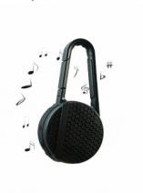 Caixa de Som Bluetooth com Mosquetão