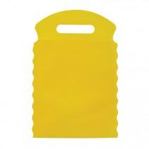 Lixeira Amarelo 17x26 cm Lisa