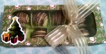 Caixa 10 bombons Natal